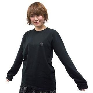 UPBK ロングTシャツ ブラック Lサイズ_4
