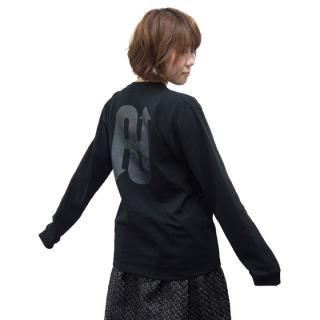 UPBK ロングTシャツ ブラック Lサイズ_5