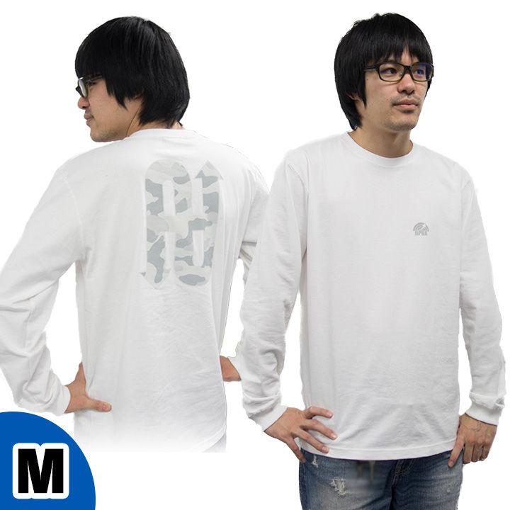 UPBK ロングTシャツ ホワイト Mサイズ