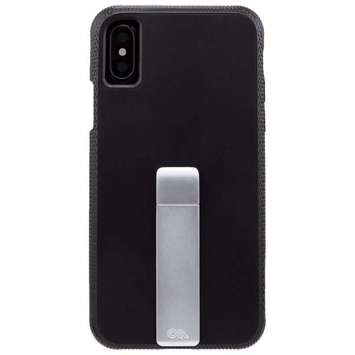 iPhone XS/X ケース Case-Mate Tough スタンドケース ブラック iPhone XS/X_0