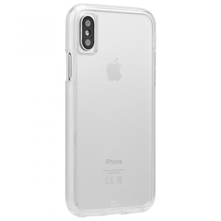 Case-Mate Naked Tough ハイブリッドクリアケース iPhone X