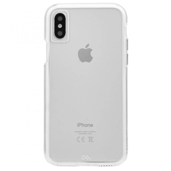 iPhone XS/X ケース Case-Mate Naked Tough クリアケース iPhone XS/X_0