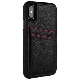 【iPhone XS/Xケース】Case-Mate Tough カードポケットケース ブラック iPhone XS/X_1
