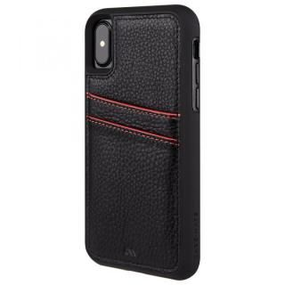 【iPhone XS/Xケース】Case-Mate Tough カードポケットケース ブラック iPhone XS/X_2