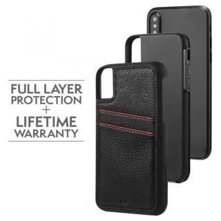 【iPhone XS/Xケース】Case-Mate Tough カードポケットケース ブラック iPhone XS/X_4
