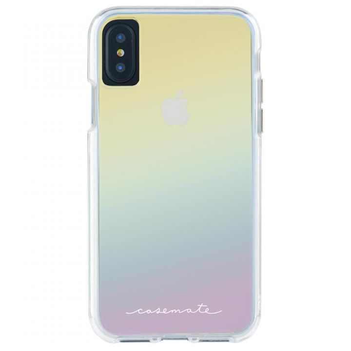 【iPhone XS/Xケース】Case-Mate Naked タフケース Iridescent iPhone XS/X_0