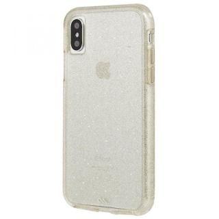 【iPhone XS/Xケース】Case-Mate シャンパンゴールドラメケース iPhone XS/X_2