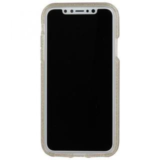【iPhone XS/Xケース】Case-Mate シャンパンゴールドラメケース iPhone XS/X_3