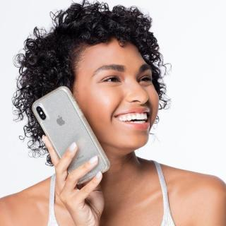 【iPhone XS/Xケース】Case-Mate シャンパンゴールドラメケース iPhone XS/X_5