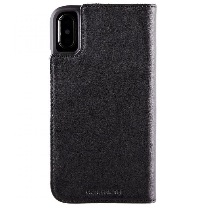 【iPhone XS/Xケース】Case-Mate 手帳型財布ケース ブラック iPhone XS/X_0
