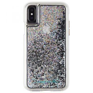 Case-Mate Waterfallケース シルバー iPhone XS/X