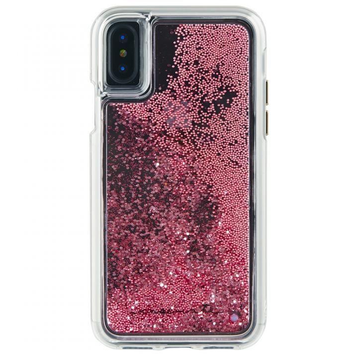 【iPhone XS/Xケース】Case-Mate Waterfallケース ローズゴールド iPhone XS/X_0