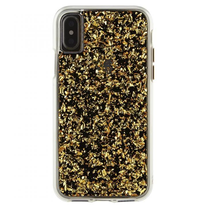 【iPhone XS/Xケース】Case-Mate Karat ケース ゴールド iPhone XS/X_0