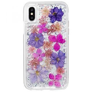 【iPhone XSケース】Case-Mate Karat Petalsケース パープル iPhone XS/X