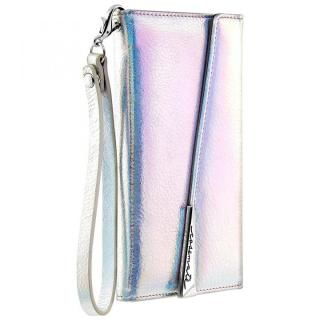 【iPhone XS/Xケース】Case-Mate Leather Wristlet Folio ケース シルバー iPhone XS/X_1