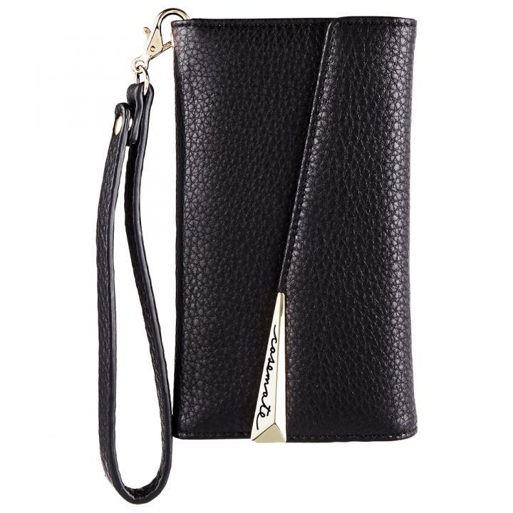 iPhone XS/X ケース Case-Mate Leather Wristlet Folio ケース ブラック iPhone XS/X_0