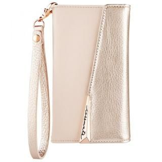 Case-Mate Leather Wristlet Folio ケース ローズゴールド iPhone XS/X