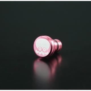 アルミ削り出しイヤホンジャックカバー スプラトゥーン2 タコ ピンク