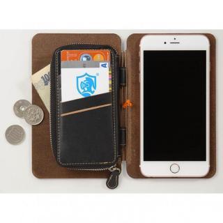 【iPhone6s Plus/6 Plusケース】システム手帳型スマートフォンケース SYSTEM キャメルブラウン iPhone 6s Plus/6 Plus_4