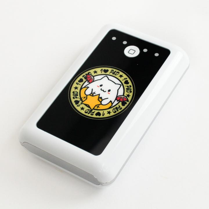 [6600mAh]たまドラ モバイルバッテリー ホワイト_0