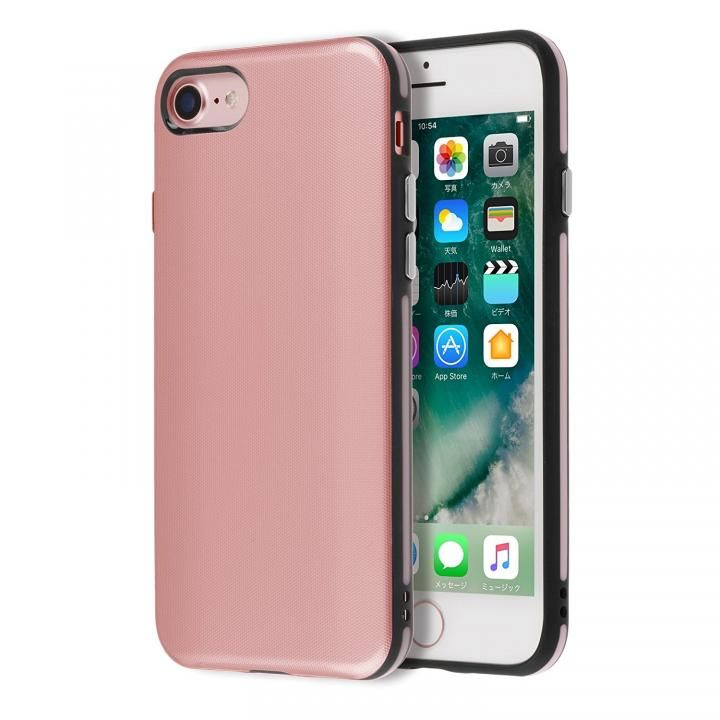 iPhone7 ケース Highend berry ハイブリッド耐衝撃ケース ローズピンク iPhone 7_0