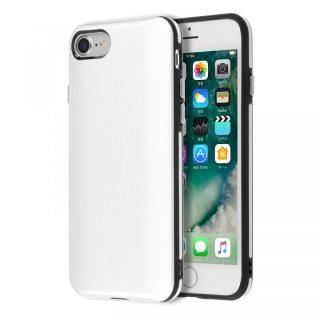 【iPhone7ケース】Highend berry ハイブリッド耐衝撃ケース ホワイト iPhone 7