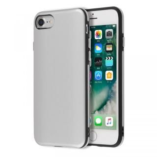 【iPhone7ケース】Highend berry ハイブリッド耐衝撃ケース シルバー iPhone 7