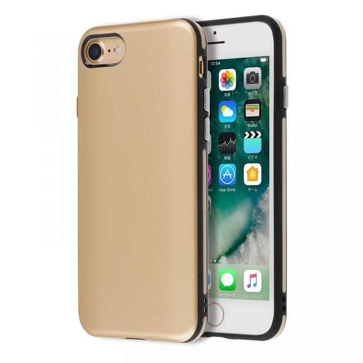 【iPhone7ケース】Highend berry ハイブリッド耐衝撃ケース ゴールド iPhone 7_0