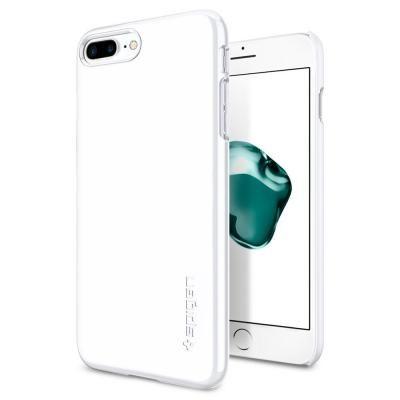 Spigen シンフィット ジェットホワイト iPhone 7 Plus