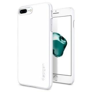 iPhone8 Plus/7 Plus ケース Spigen シンフィット ジェットホワイト iPhone 8 Plus/7 Plus