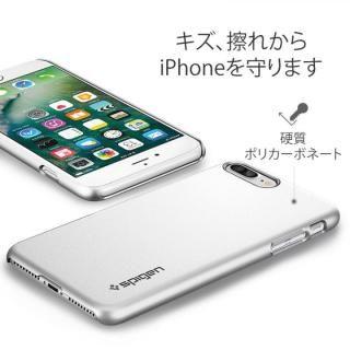 【iPhone8 Plus/7 Plusケース】Spigen シンフィット ジェットホワイト iPhone 8 Plus/7 Plus_3