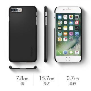【iPhone8 Plus/7 Plusケース】Spigen シンフィット ジェットホワイト iPhone 8 Plus/7 Plus_4