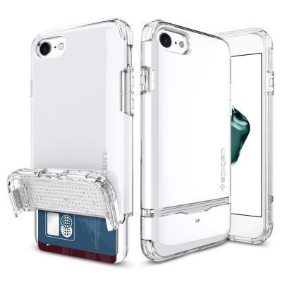 iPhone7 ケース Spigen フリップアーマー ジェットホワイト iPhone 7_0