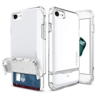 Spigen フリップアーマー ジェットホワイト iPhone 7