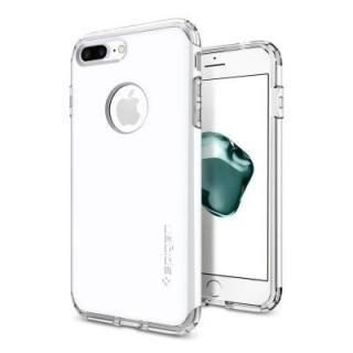 Spigen ハイブリッドアーマー ジェットホワイト iPhone 7 Plus