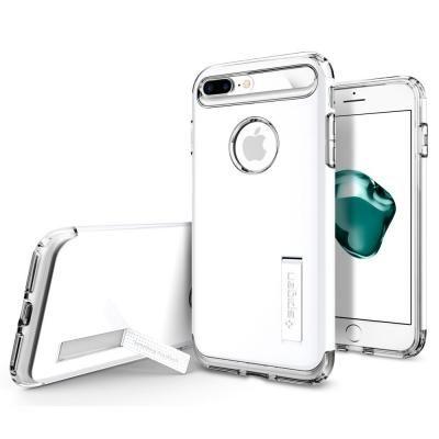 【iPhone8 Plus/7 Plusケース】Spigen スリムアーマー ジェットホワイト iPhone 8 Plus/7 Plus_0