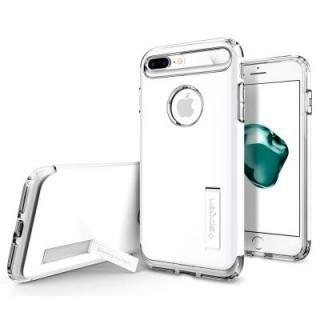 【iPhone8 Plus/7 Plusケース】Spigen スリムアーマー ジェットホワイト iPhone 8 Plus/7 Plus