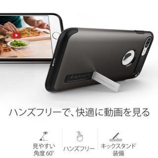 【iPhone8 Plus/7 Plusケース】Spigen スリムアーマー ジェットホワイト iPhone 8 Plus/7 Plus_4