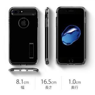 【iPhone8 Plus/7 Plusケース】Spigen スリムアーマー ジェットホワイト iPhone 8 Plus/7 Plus_7