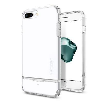 iPhone7 Plus ケース Spigen フリップアーマー ジェットホワイト iPhone 7 Plus_0