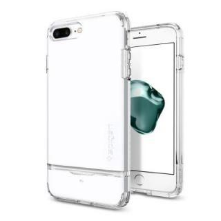 Spigen フリップアーマー ジェットホワイト iPhone 7 Plus