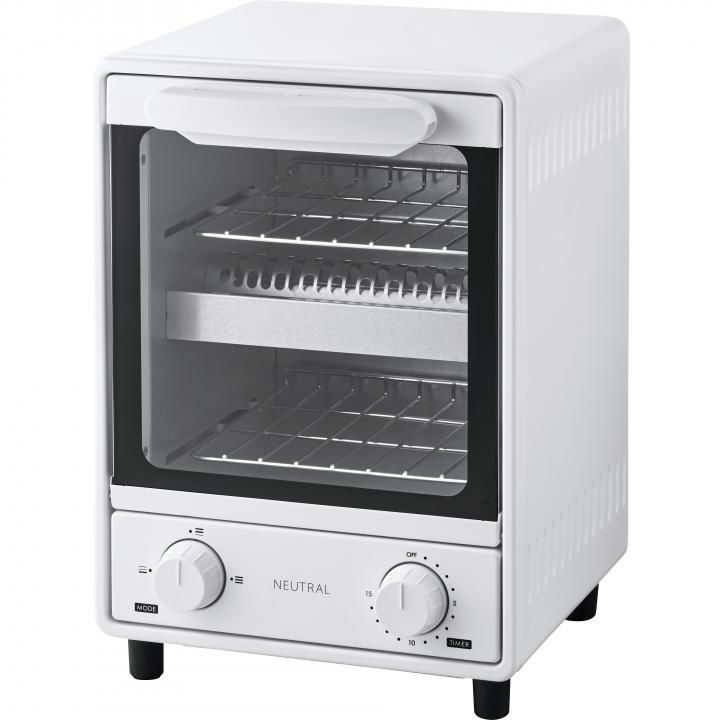 NEUTRAL オーブントースター ホワイト_0