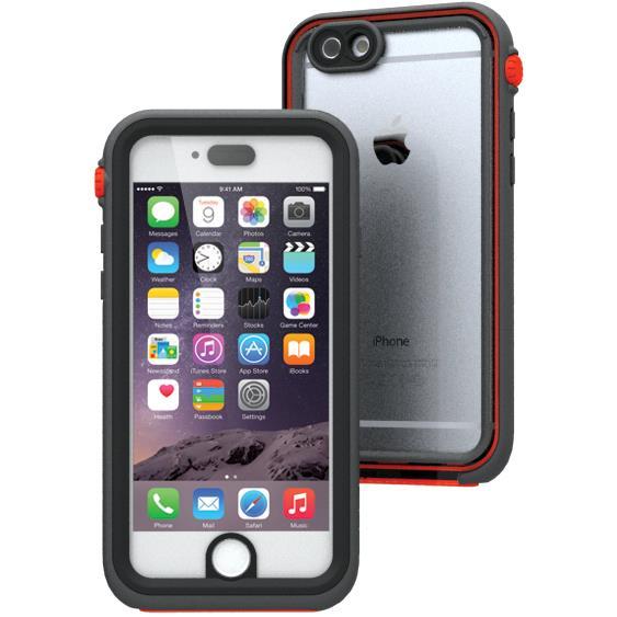 【iPhone6ケース】Catalyst(カタリスト) 完全防水ケース CT-WPIP144  ブラックオレンジ iPhone 6_0