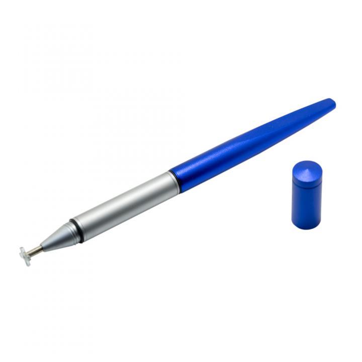 静電容量式タッチパネル対応 ねらえるヘッドタッチペン ブルー_0