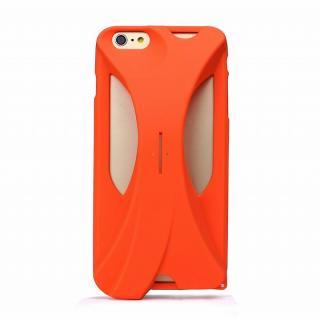 【iPhone6s Plus/6 Plusケース】装着で音量増幅 サウンドアンプケース オレンジ iPhone 6s Plus/6 Plus