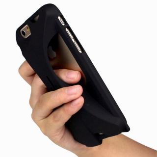 【iPhone6ケース】装着で音量増幅 サウンドアンプケース オレンジ iPhone 6_1