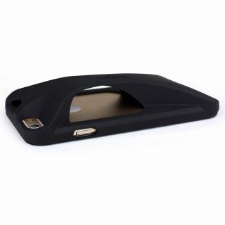 【iPhone6ケース】装着で音量増幅 サウンドアンプケース オレンジ iPhone 6_3
