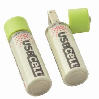 Moixa USBcell 単3ニッケル水素充電池 2本