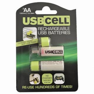 Moixa USBcell 単3ニッケル水素充電池 2本_2