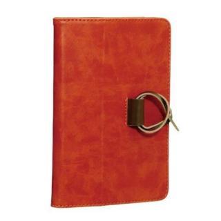 ソフトレザージャケット オレンジ iPad mini/2/3ケース